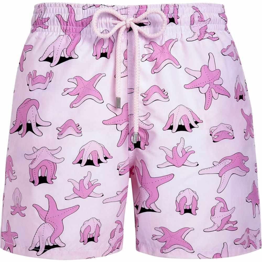 ヴィルブレクイン VILEBREQUIN メンズ 海パン ショートパンツ 水着・ビーチウェア【st valentine swim shorts】Pink