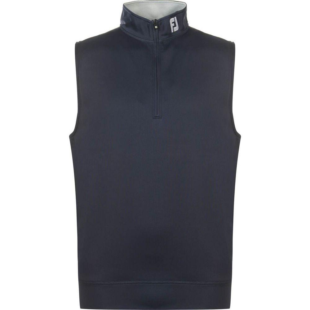 フットジョイ Footjoy メンズ ベスト・ジレ トップス【chill out vest】Navy