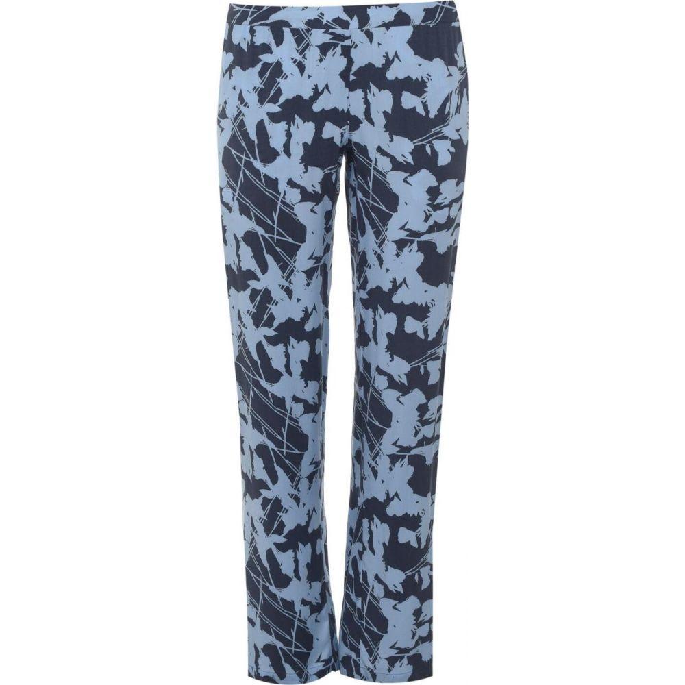 カルバンクライン Calvin Klein レディース パジャマ・ボトムのみ インナー・下着【woven viscose pyjama trousers】Grey PatternSFB