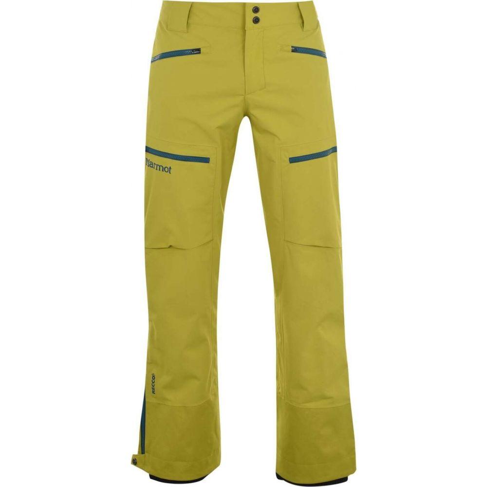 マーモット メンズ スキー スノーボード ボトムス パンツ 新色 サイズ交換無料 ride Yellow free Marmot pants 期間限定特別価格 ski