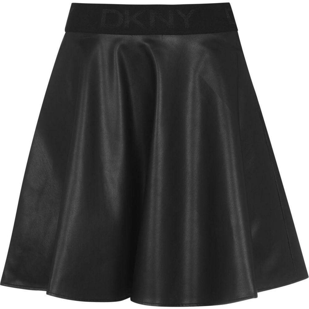 ダナ キャラン ニューヨーク DKNY レディース スカート 【pu skirt】Black