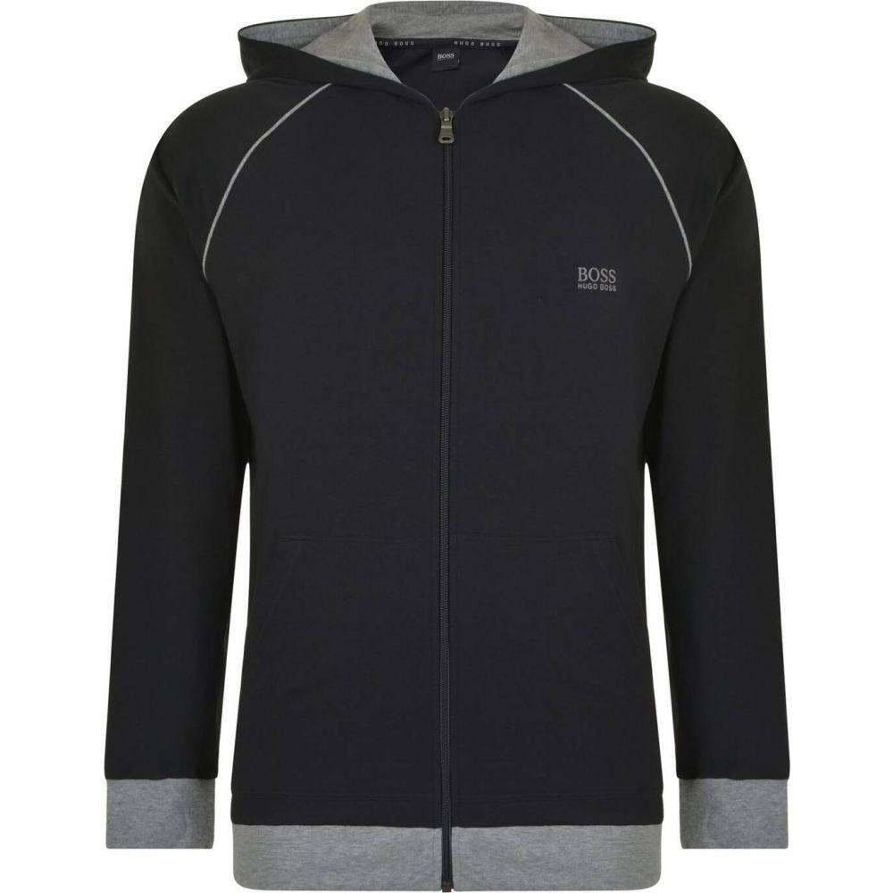 ヒューゴ ボス Boss Bodywear メンズ パーカー トップス【mix and match hooded sweatshirt】Black SMU