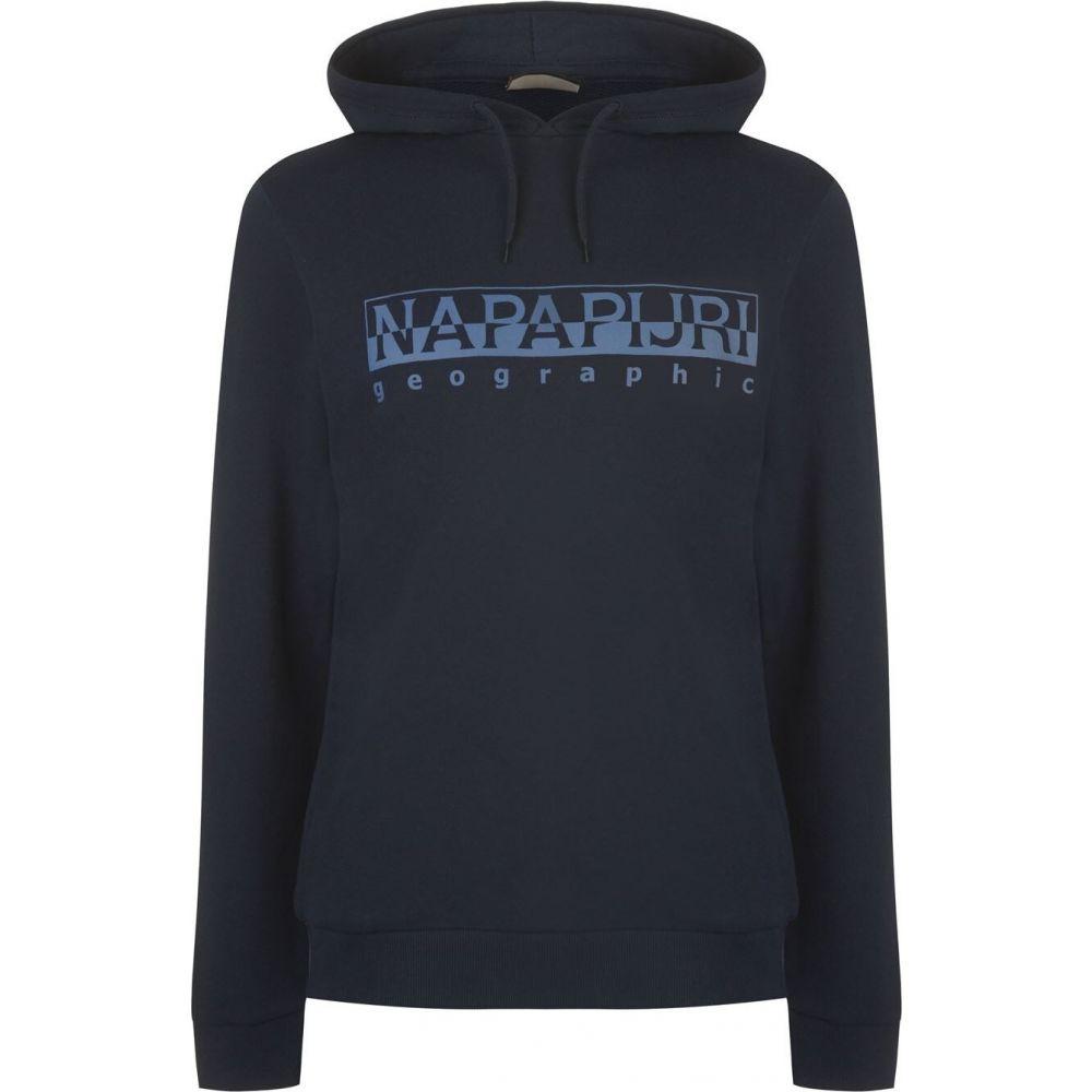 ナパピリ Napapijri メンズ パーカー トップス【bevora oth logo hoodie】Navy