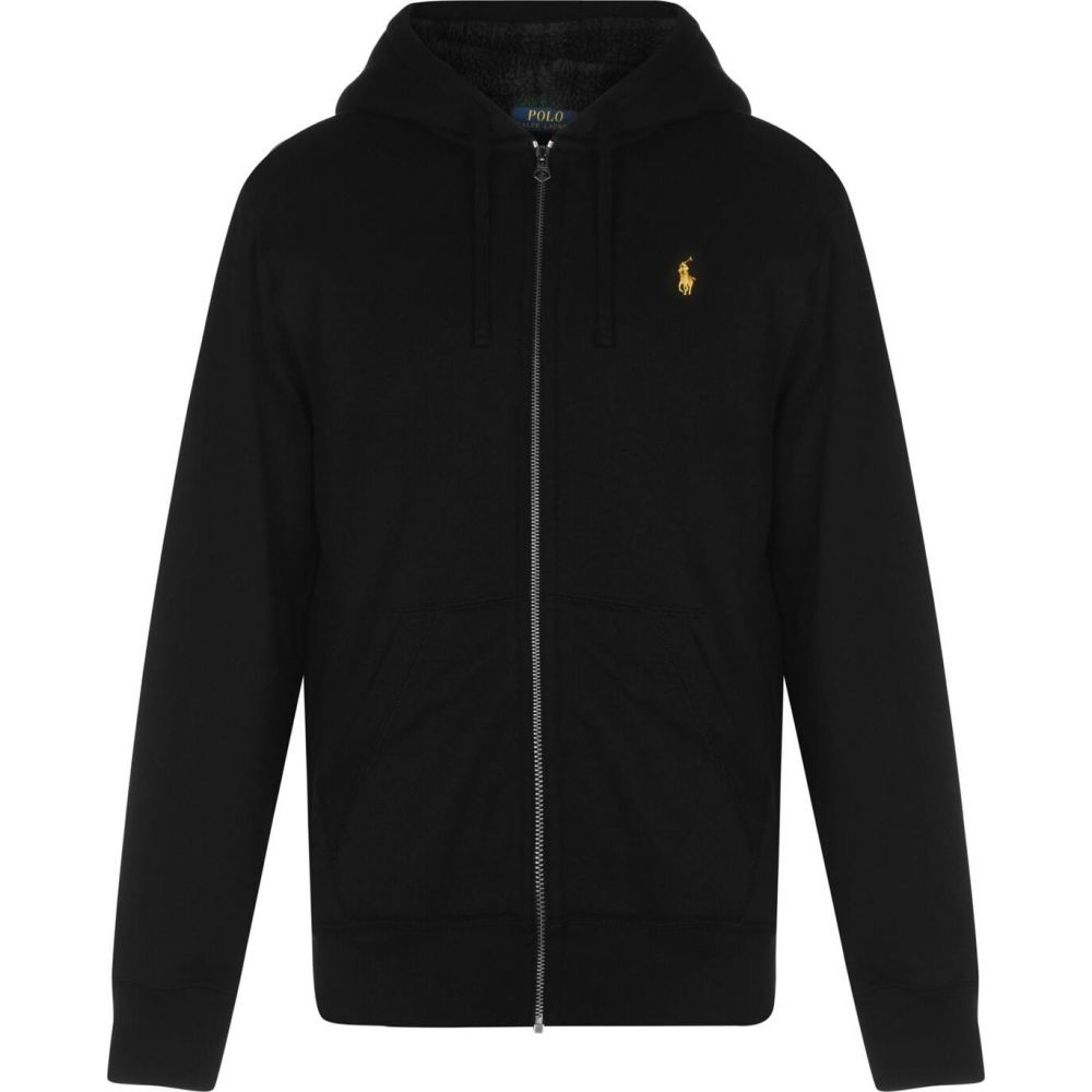 ラルフ ローレン Polo Ralph Lauren メンズ パーカー トップス【polo sherpa hoodie】Black