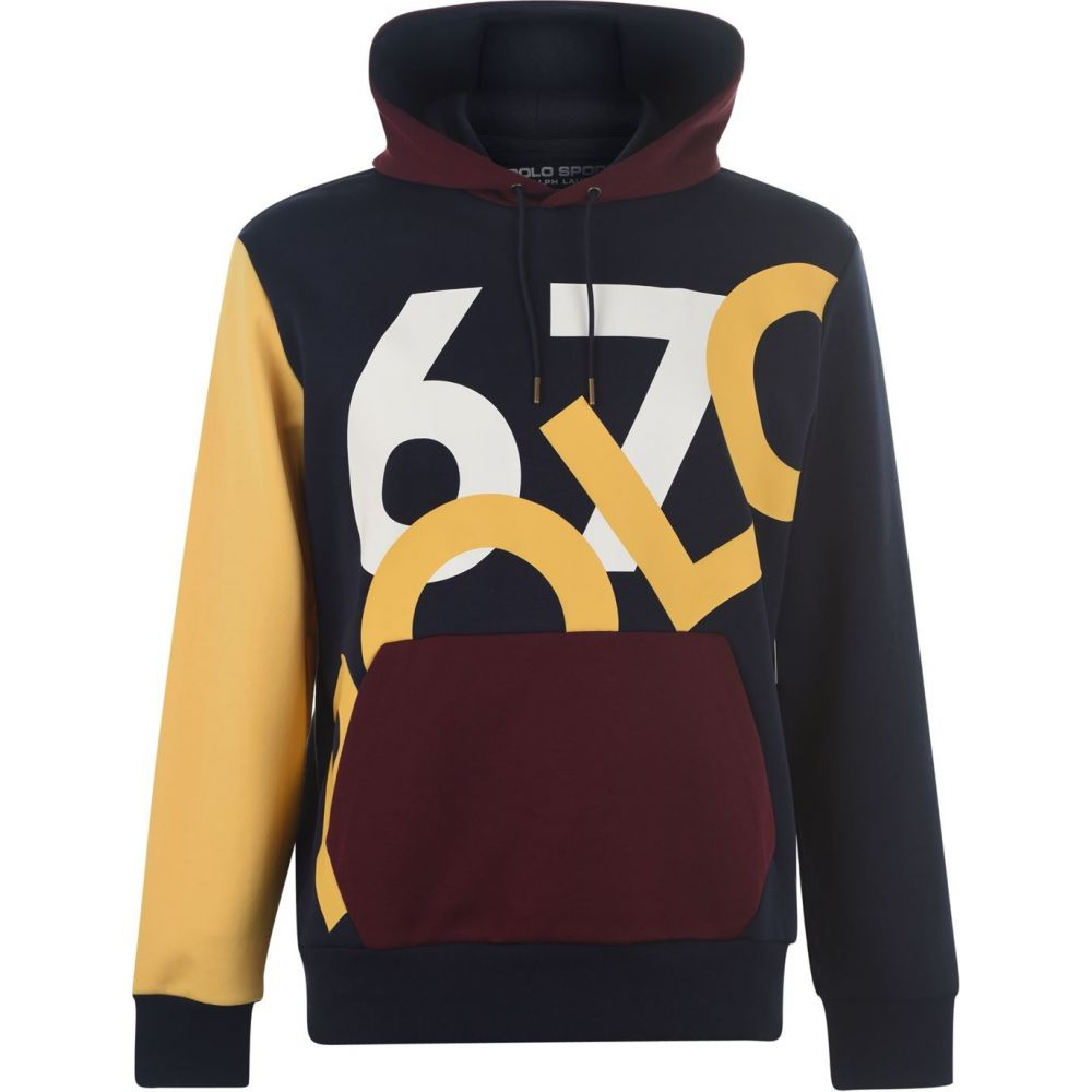 ラルフ ローレン POLO RALPH LAUREN メンズ パーカー トップス【67 logo hoodie】Navy Multi