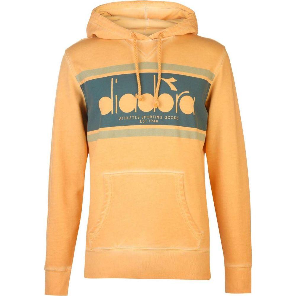 ディアドラ Diadora メンズ パーカー トップス【spectra hoodie】Orange Mustard