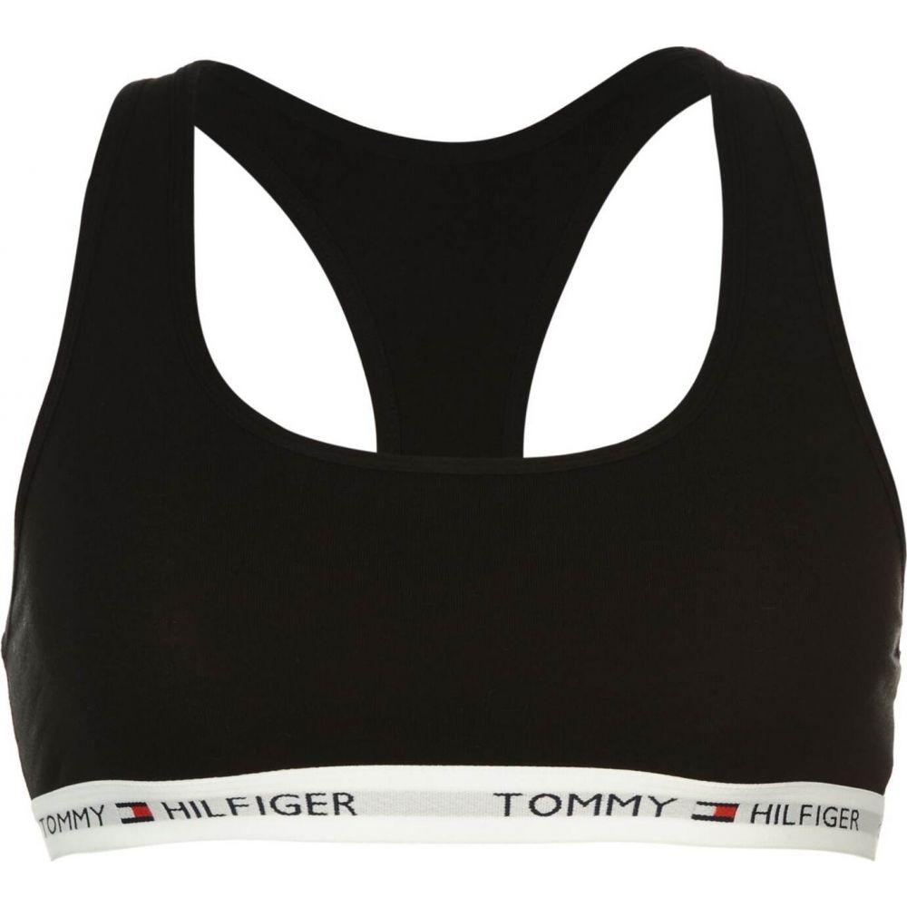 トミー ヒルフィガー Tommy Bodywear レディース ブラレット インナー・下着【Logo Band Bralette】Black