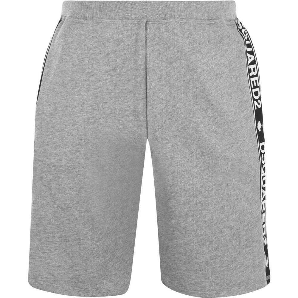 ディースクエアード 2020新作 メンズ ランニング ウォーキング ボトムス パンツ Grey サイズ交換無料 Shorts ショートパンツ おすすめ特集 Tape DSQUARED2 Logo