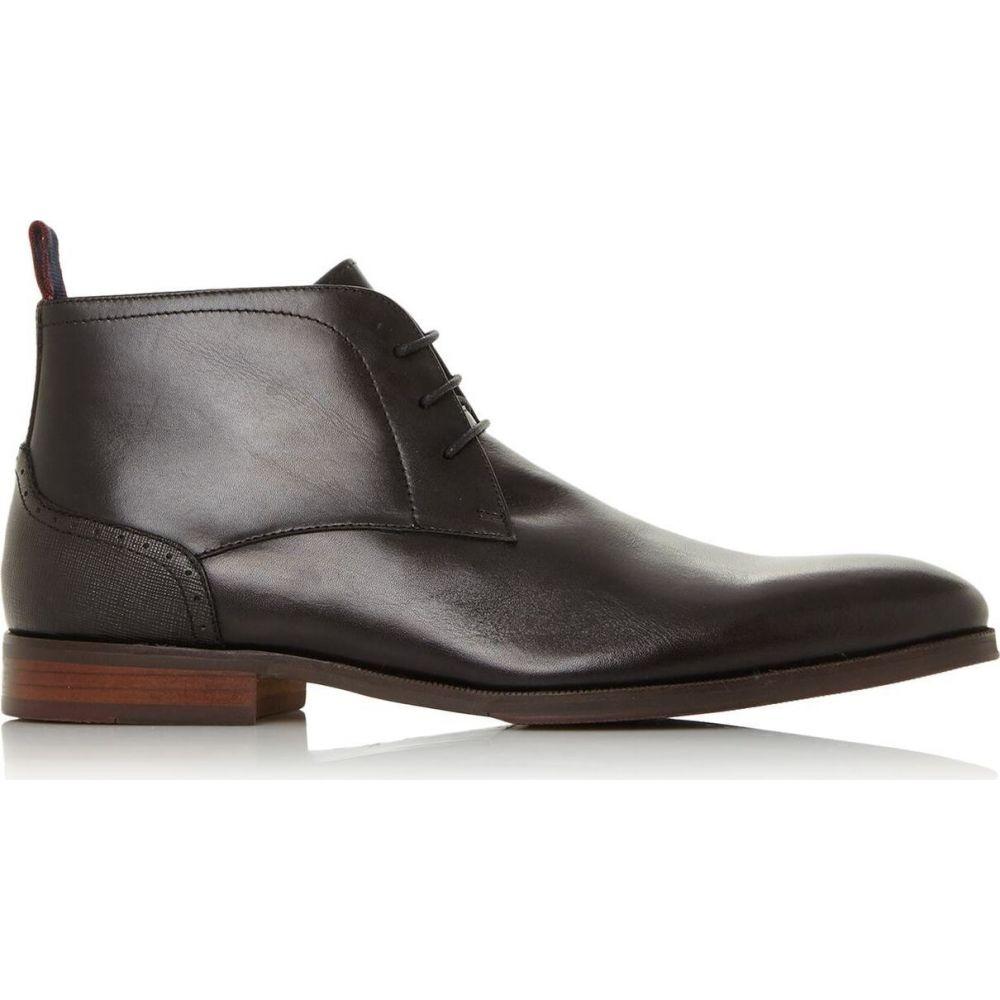 デューン Dune London メンズ ブーツ チャッカブーツ シューズ・靴【Maidenn Plain Toe Formal Chukka Boots】Black