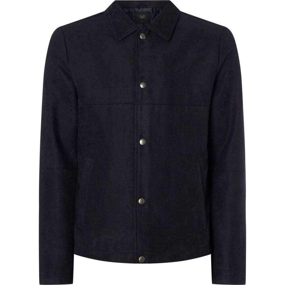 Blair メンズ アウター【Premium Jones Navy ジャケット Jack ジャック&ジョーンズ Jacket】Dark and