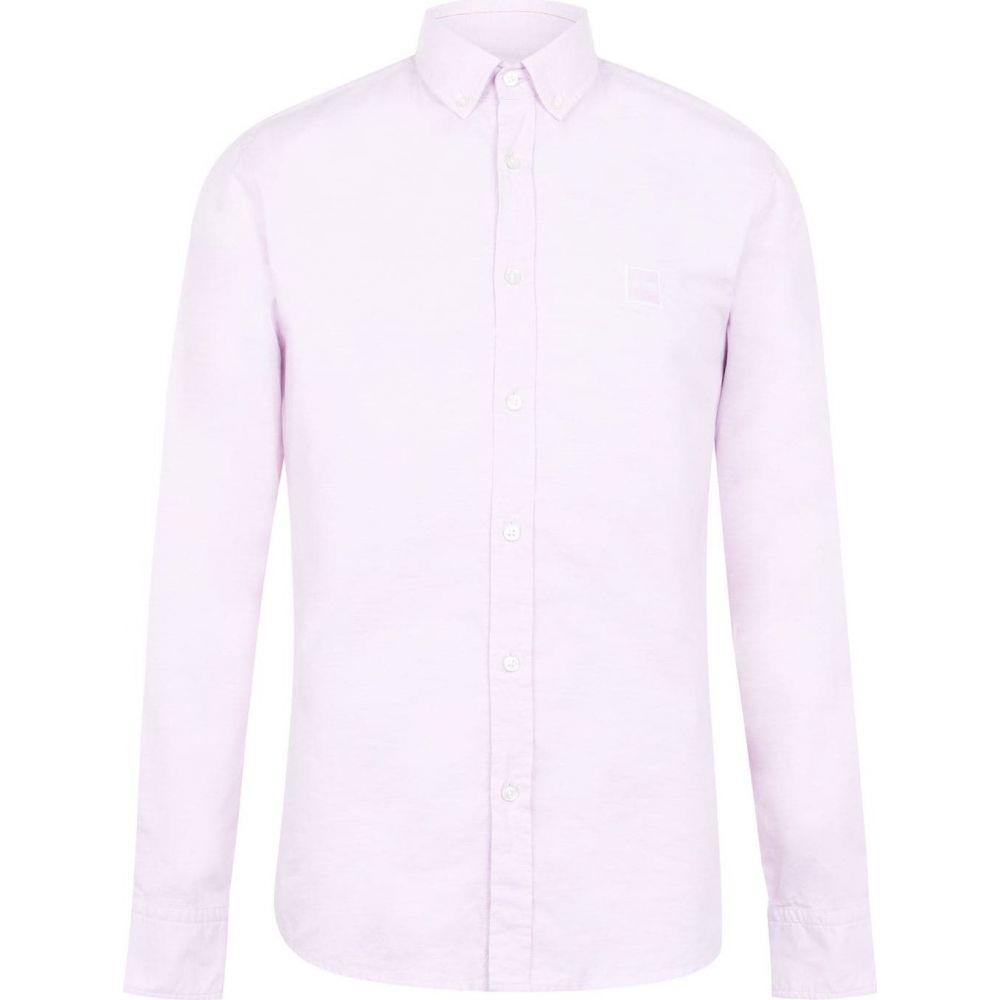 ヒューゴ ボス Boss メンズ シャツ トップス【Mabsoot Logo Shirt】Dark Pink