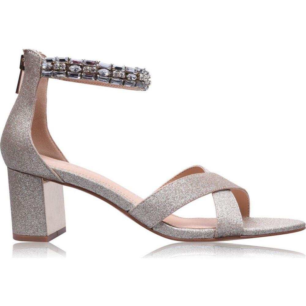 リネアペレ レディース シューズ 靴 テレビで話題 セール特別価格 ヒール Champagne Heels Linea Block サイズ交換無料 Jewelled
