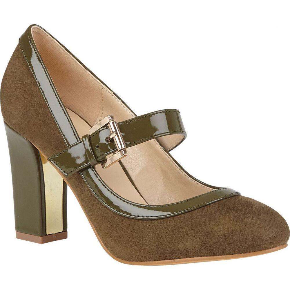 ロータス Lotus Shoes レディース シューズ・靴 【Lani Mary Jane Shoes】Olive