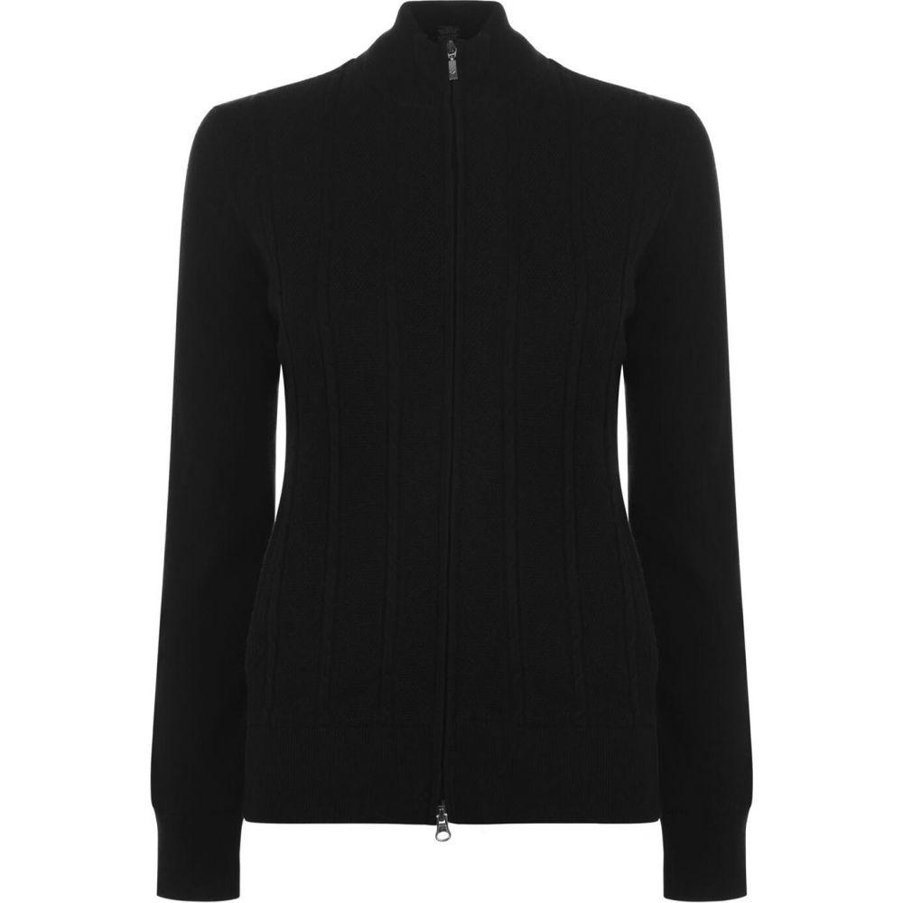 キャロウェイ Callaway レディース ニット・セーター トップス【Mock Sweater】Black