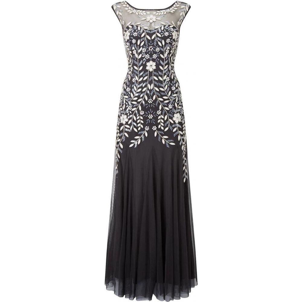 フェイズ エイト Phase Eight レディース ワンピース ワンピース・ドレス【Sabine Tulle Full Length Dress】Charcoal