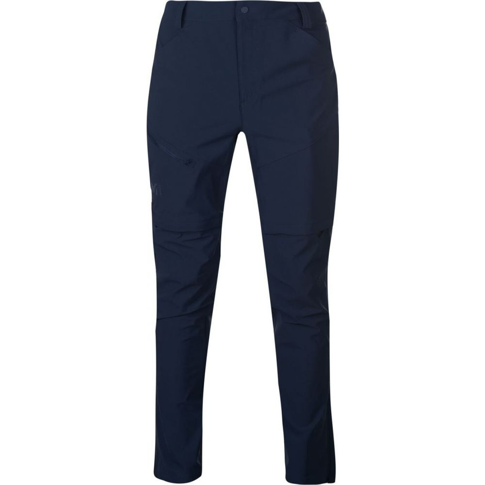 ミレー Millet メンズ ボトムス・パンツ 【Trekker Stretch Zip Off Trousers】Orion Blue