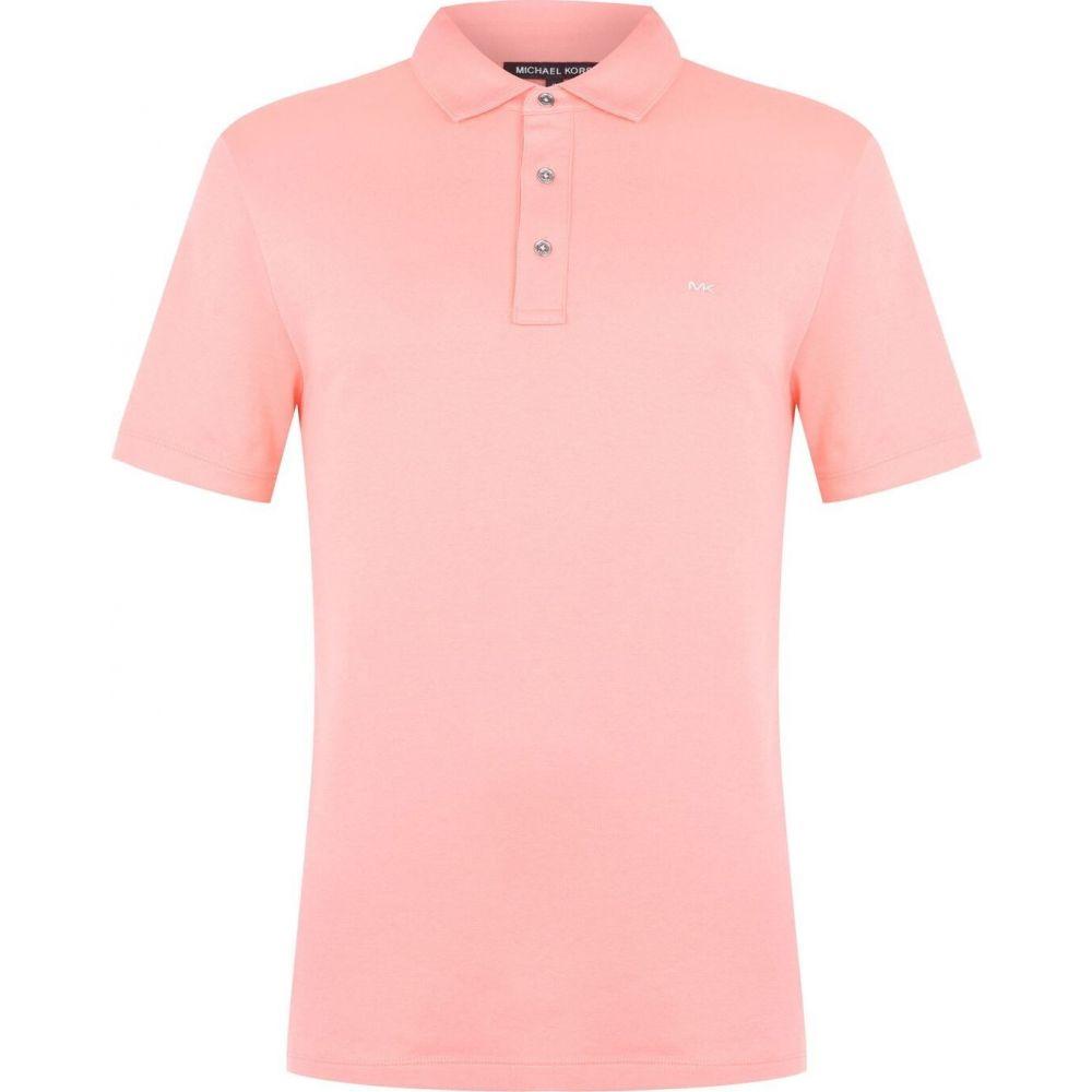 マイケル コース Michael Kors メンズ ポロシャツ トップス【Michael Sleek Polo Shirt】Grapefruit:フェルマート