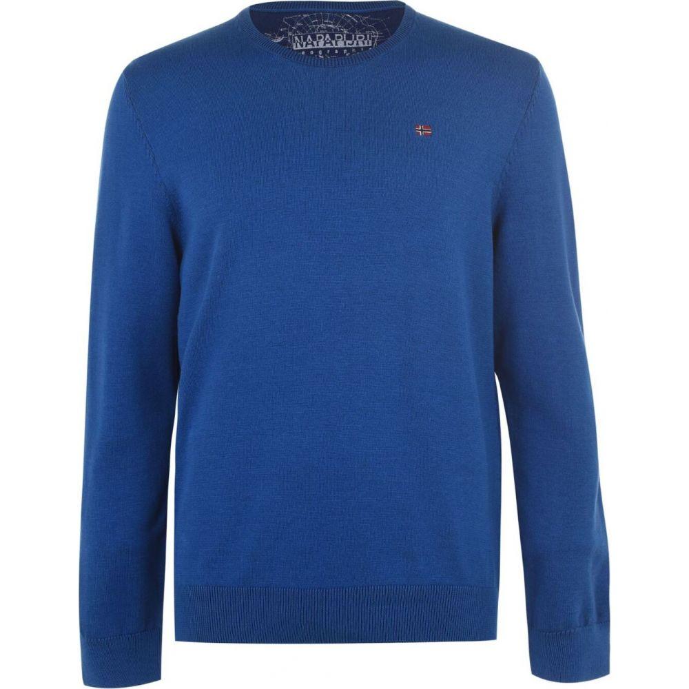 ナパピリ Napapijri メンズ スウェット・トレーナー トップス【Dashki Crew Sweater】Blue