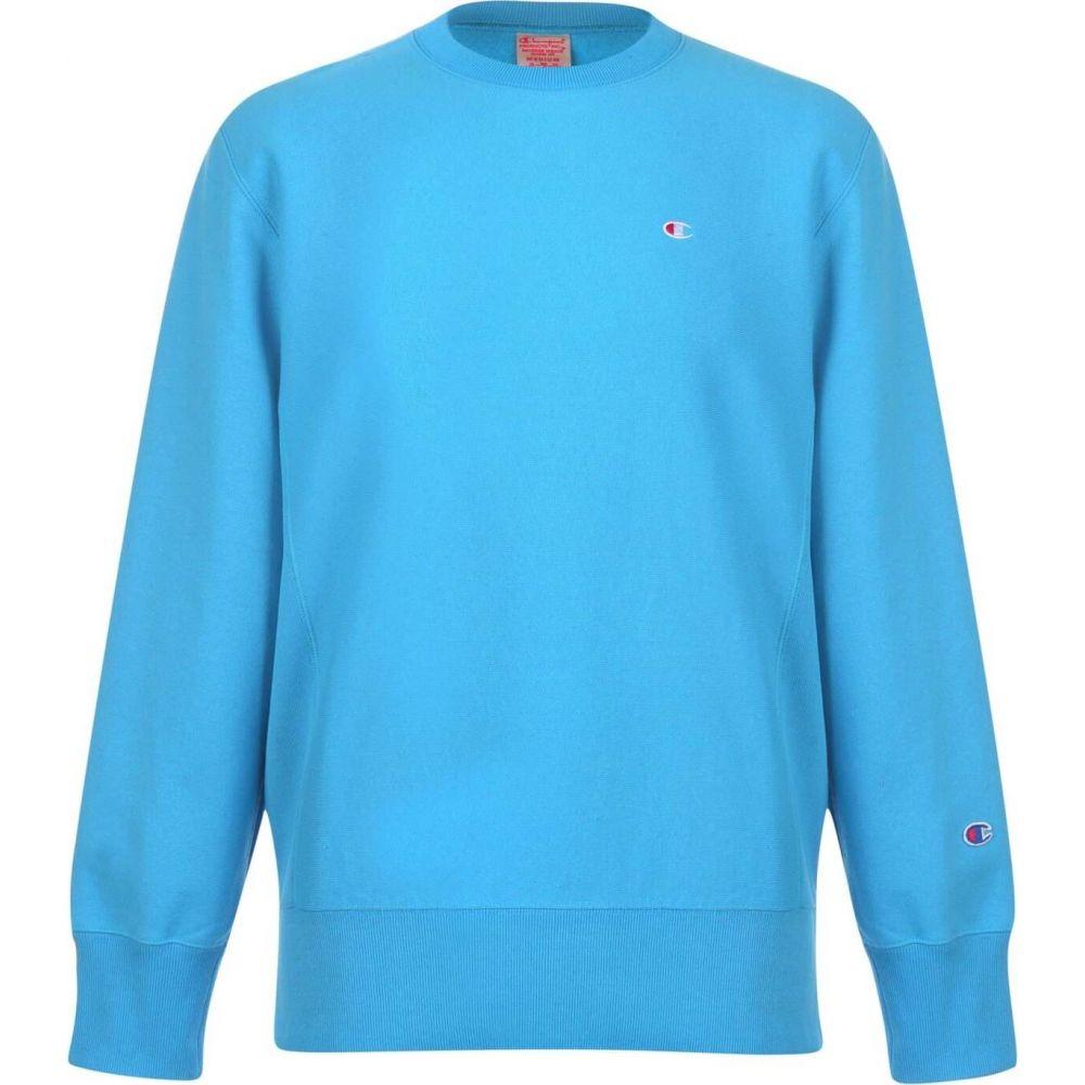 チャンピオン Champion メンズ スウェット・トレーナー トップス【Sweatshirt】Blue
