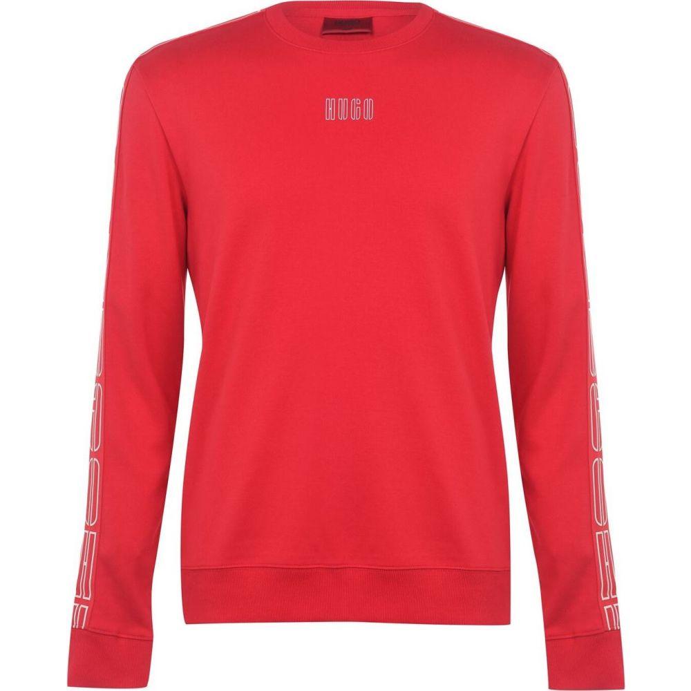ヒューゴ ボス Hugo メンズ スウェット・トレーナー トップス【Dobby 203 Crew Sweatshirt】Open Pink