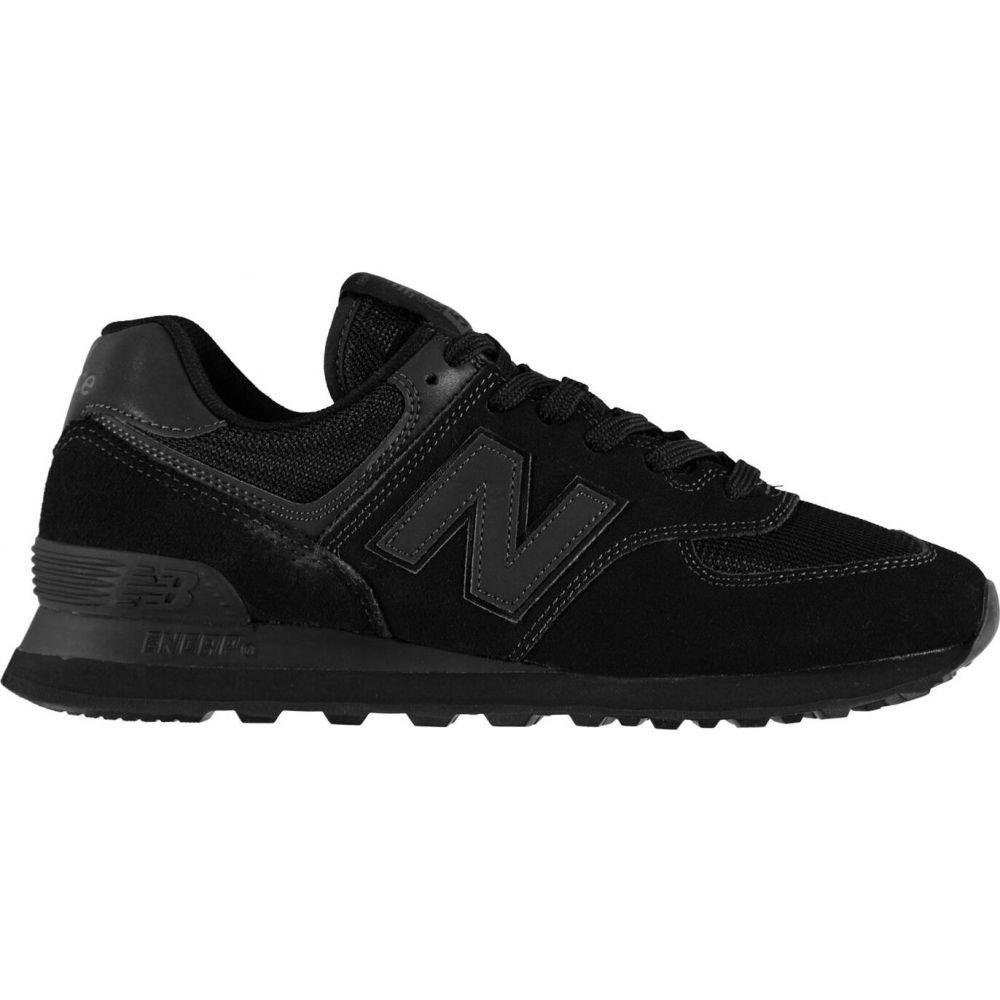 ニューバランス New Balance メンズ スニーカー シューズ・靴【574 Classic Trainers】Black Mono