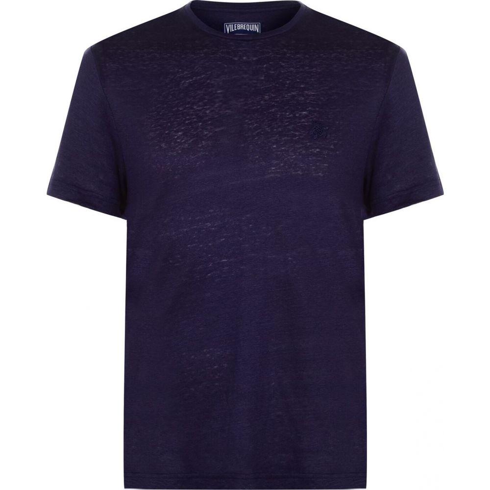 ヴィルブレクイン VILEBREQUIN メンズ Tシャツ トップス【Tiramisu T Shirt】Bleu Nuit
