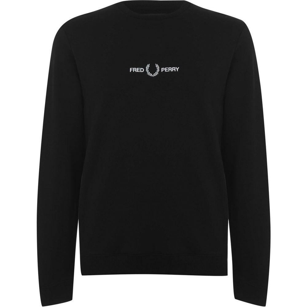 フレッドペリー Fred Perry メンズ トップス 【Graphic Sweater】Black
