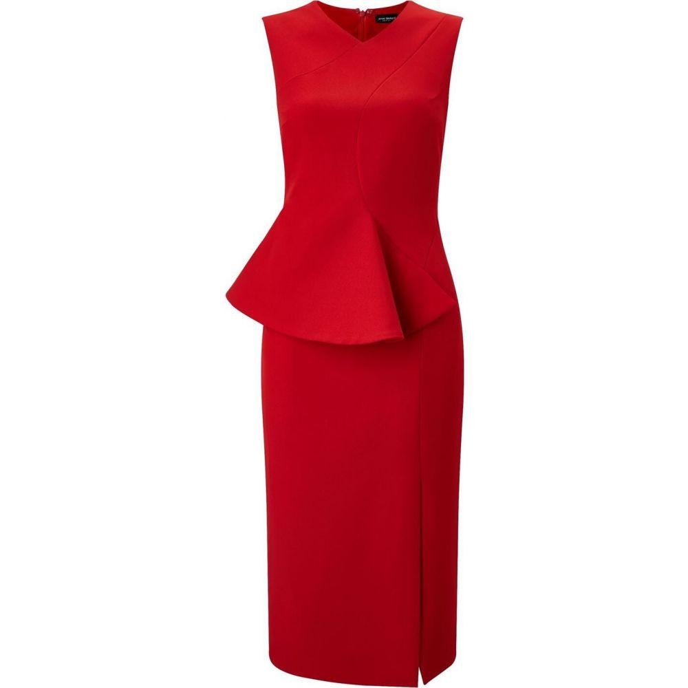 ジュームズ レイクランド James Lakeland レディース パーティードレス ワンピース・ドレス【Woven Dress With Waist】Red