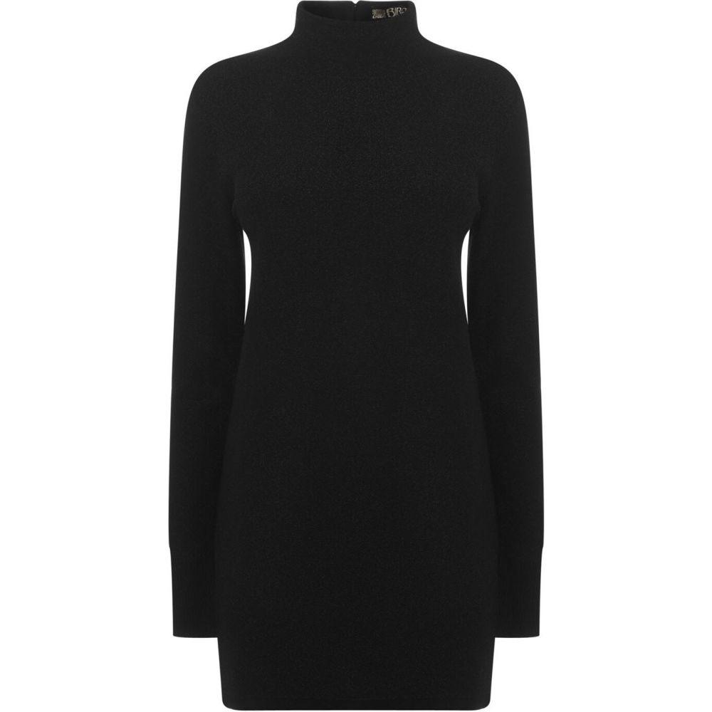 ビバ Biba レディース ワンピース チュニックドレス ワンピース・ドレス【Knit Tunic Dress】Black