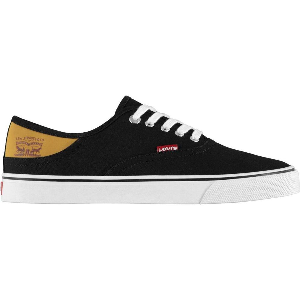 リーバイス Levis メンズ シューズ・靴 【Jordy Buck Canvas Shoes】Black/White