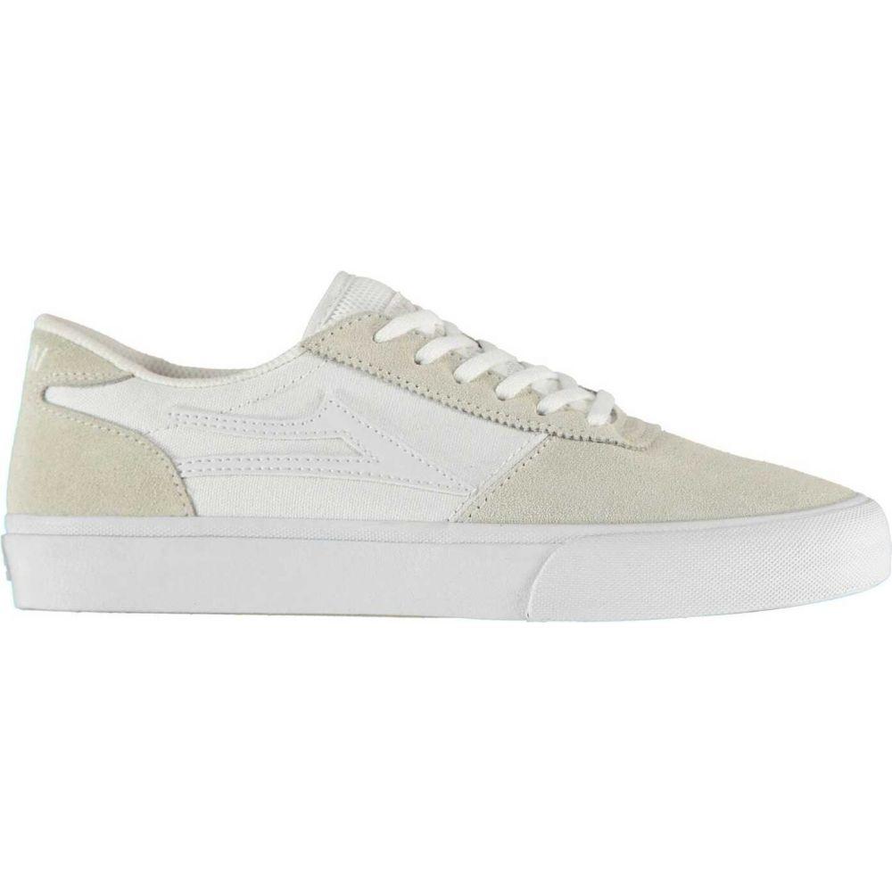 ラカイ Lakai メンズ スケートボード シューズ・靴【Manchester Skate Shoes】White WHWHS