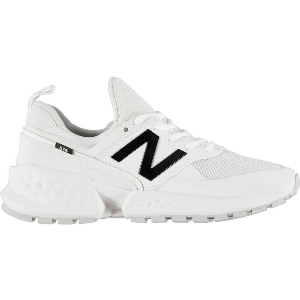 ニューバランス New Balance メンズ スニーカー シューズ・靴【57 Sport Trainers】White/Black