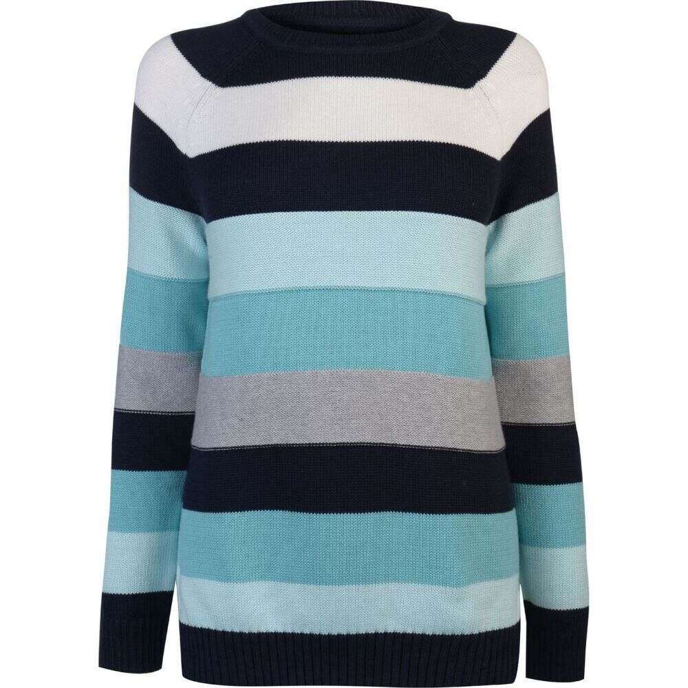 バブアー Barbour Lifestyle レディース トップス 【B.Li Overseas Knit】Navy