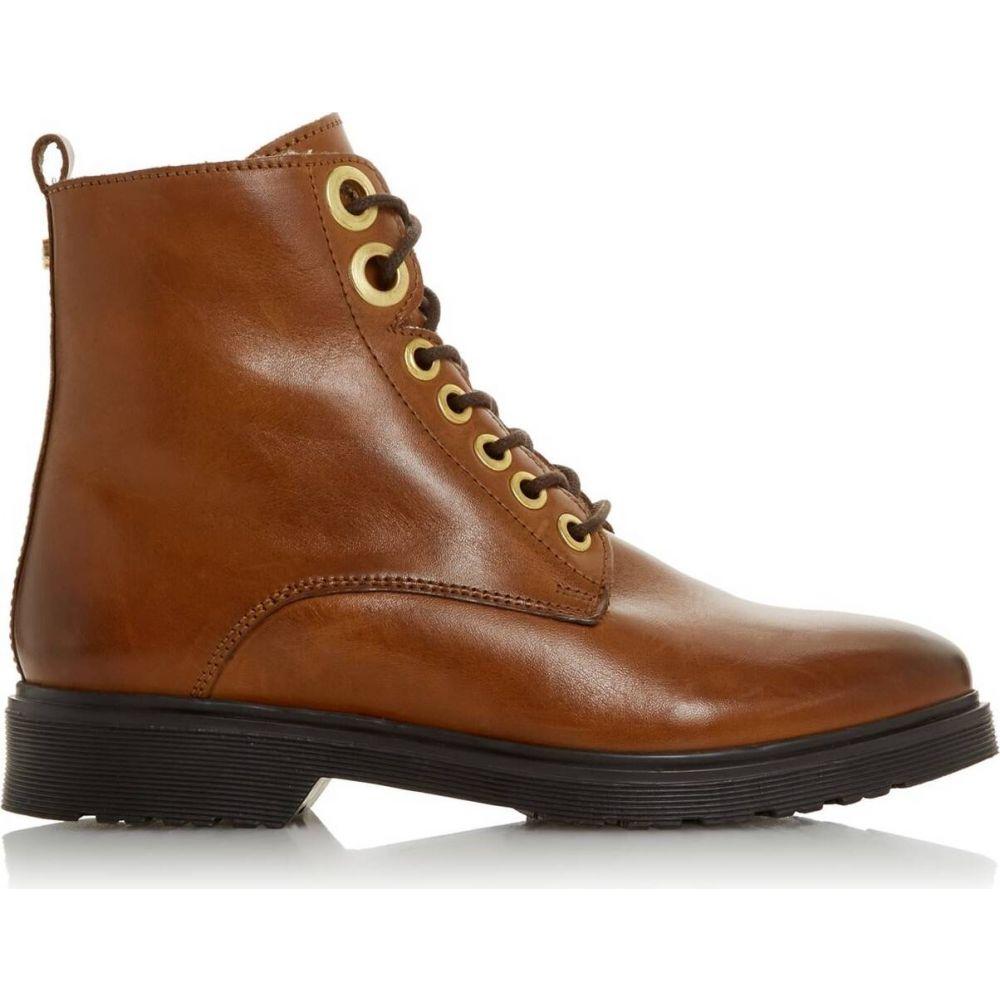 デューン Dune London レディース ブーツ ショートブーツ シアリング シューズ・靴【Parkland Shearling Lined Ankle Boots】Tan