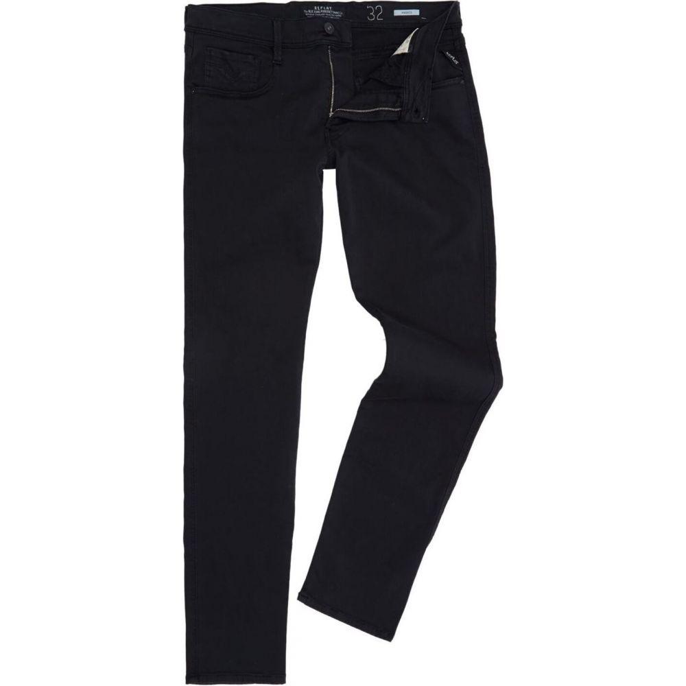 リプレイ Replay メンズ ジーンズ・デニム ボトムス・パンツ【Anbass slim fit jean】Black