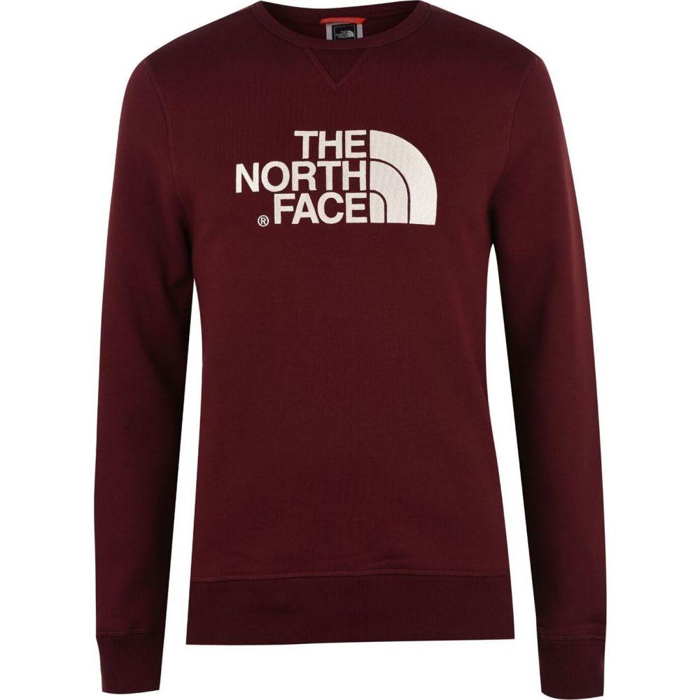 ザ ノースフェイス The North Face メンズ スウェット・トレーナー トップス【Drew Crew Neck Sweater】HBM Garnet Red