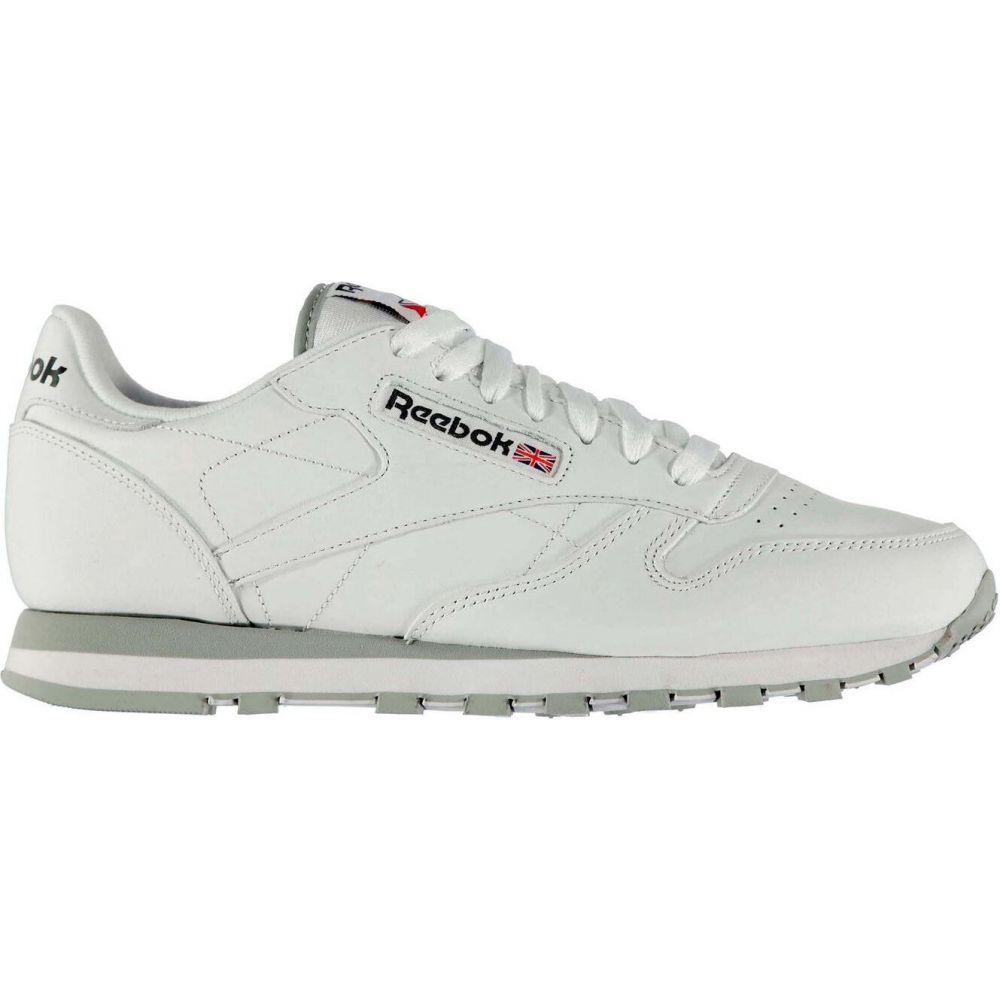 リーボック Reebok Lifestyle メンズ スニーカー シューズ・靴【Classic Leather Trainers】White