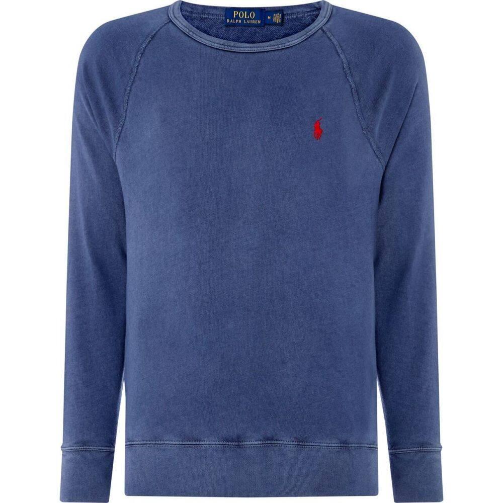 ラルフ ローレン Polo Ralph Lauren メンズ スウェット・トレーナー トップス【French Terry Sweater】Cruise Navy