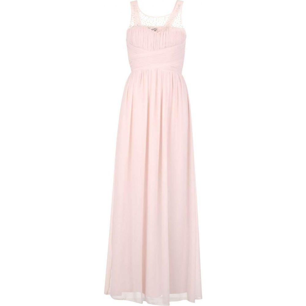 リトル ミストレス Little Mistress レディース ワンピース マキシ丈 ワンピース・ドレス【Beaded top maxi dress】Salmon Pink