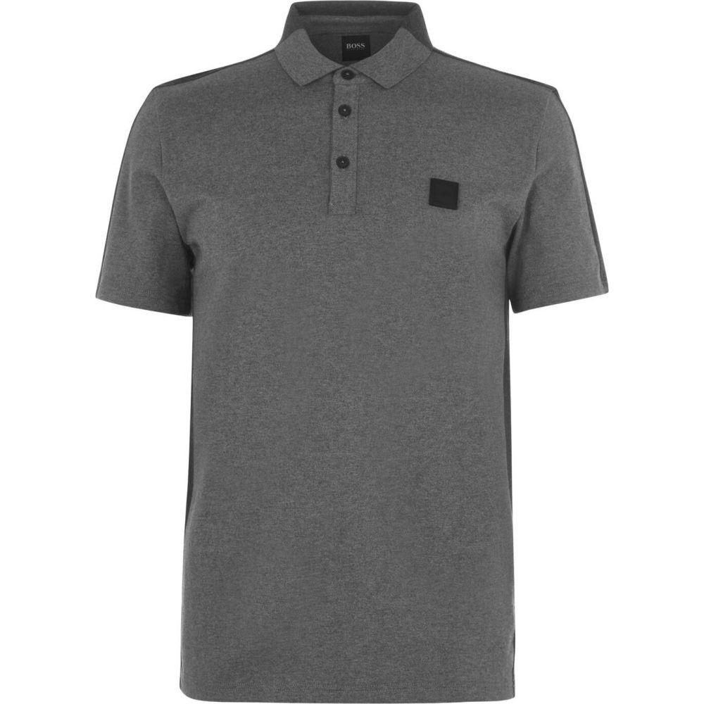 ヒューゴ ボス Boss メンズ ポロシャツ トップス【Pevided Polo Shirt】Grey