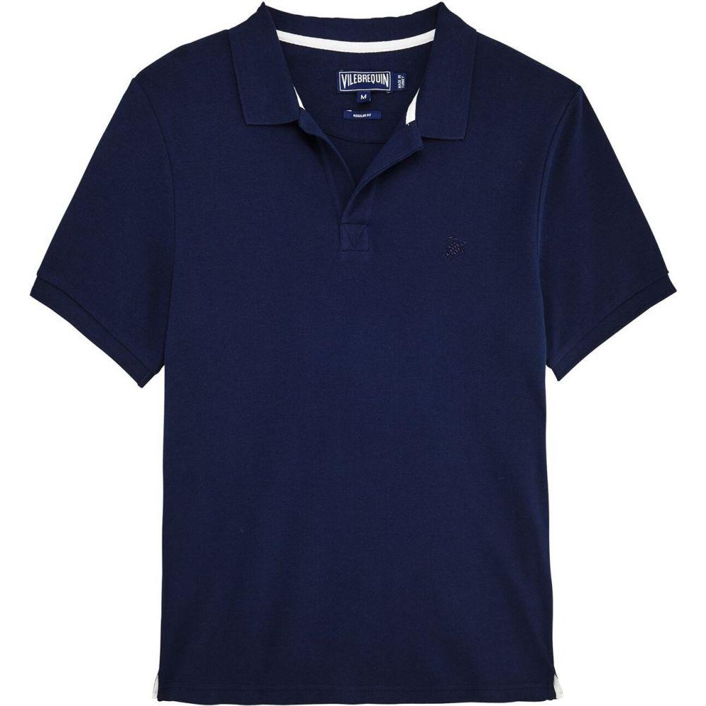 ヴィルブレクイン メンズ 毎日続々入荷 トップス ポロシャツ Navy Shirt Pique 買い取り サイズ交換無料 Vilebrequin Polo