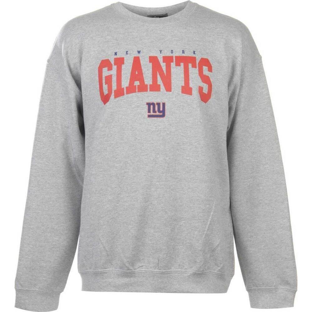 NFL メンズ スウェット・トレーナー トップス【Logo Crew Sweatshirt】NY Giants
