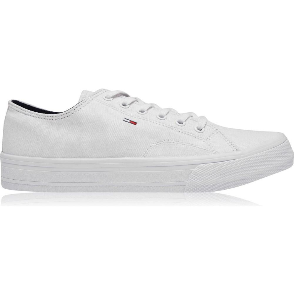 トミー ジーンズ Tommy Jeans メンズ スニーカー シューズ・靴【Low-Top Trainers】White
