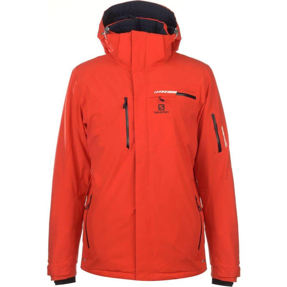 サロモン Salomon メンズ ジャケット アウター【Brillant Jacket】Orange