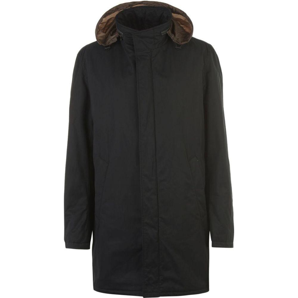 ブガッティ Bugatti メンズ レインコート アウター【Water Repellent Funnel Neck Raincoat】Black