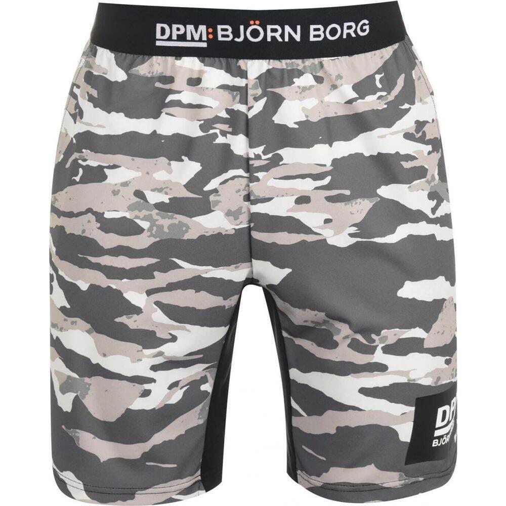 ビヨン ボルグ Bjorn Borg メンズ ショートパンツ ボトムス・パンツ【Bjorn DMP AUG Shorts】Tigerstripe