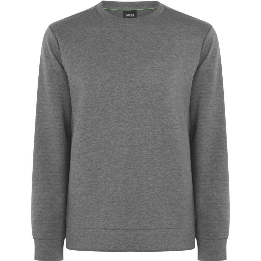 ヒューゴ ボス Boss メンズ スウェット・トレーナー トップス【Salbox Crew Sweatshirt】Grey
