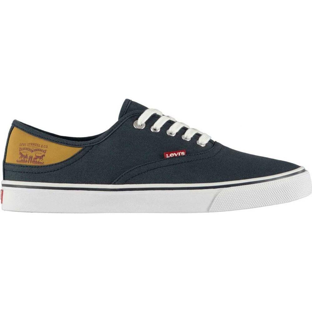 リーバイス Levis メンズ シューズ・靴 【Jordy Buck Canvas Shoes】Navy Blue