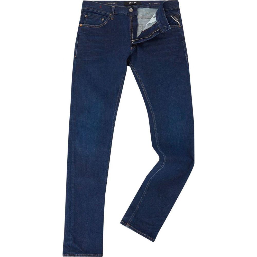 リプレイ Replay メンズ ジーンズ・デニム ボトムス・パンツ【Skinny Fit Hyperflex Jondrill Jeans】Denim