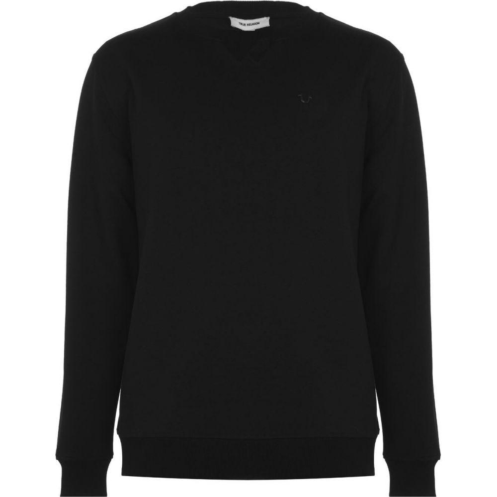 トゥルー レリジョン True Religion メンズ スウェット・トレーナー トップス【Horseshoe Sweatshirt】Black